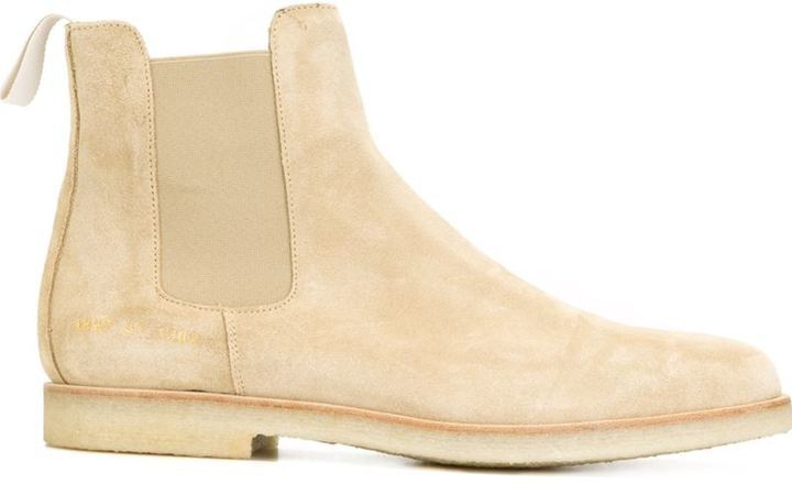 86dc9cc2264af6 ... Tan Suede Chelsea Boots Common Projects Chelsea Boots