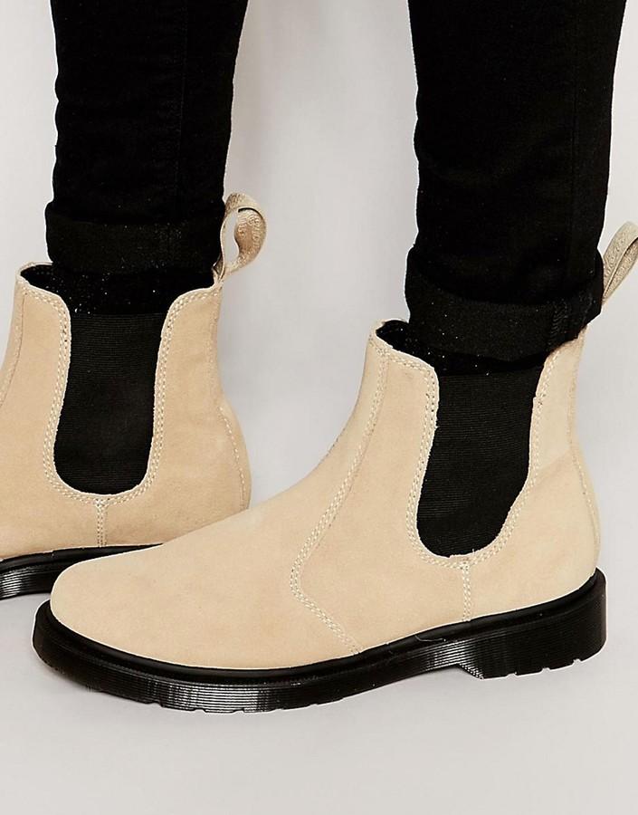 679c73a65f08 Dr. Martens Dr Martens Suede Chelsea Boots