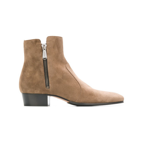 Balmain Suede Boots
