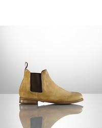 Ralph Lauren Suede Godstl Boot
