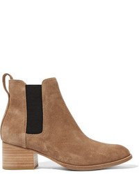 Rag & Bone Walker Suede Chelsea Boots Camel