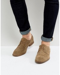 Derby shoes in taupe suede medium 3706445