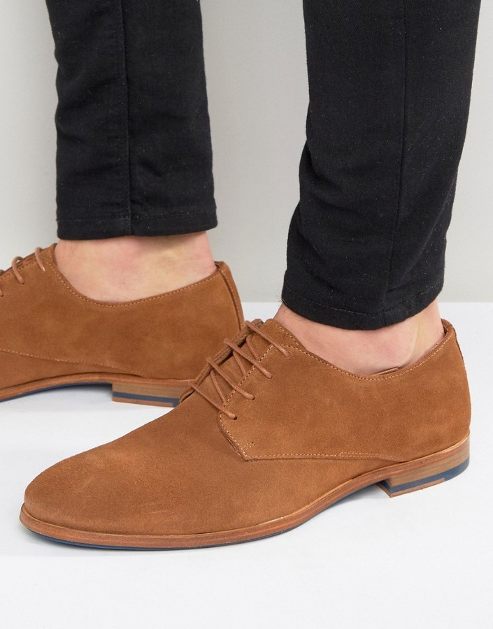 Zign Suede Derby Shoes In 08IrnqhC