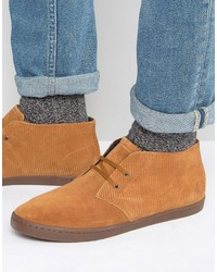 Fred Perry Byron Suede Mid Chukka Boots