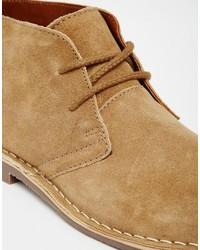 Desert Boots En Daim Beige - Redtape Beige eojk3X