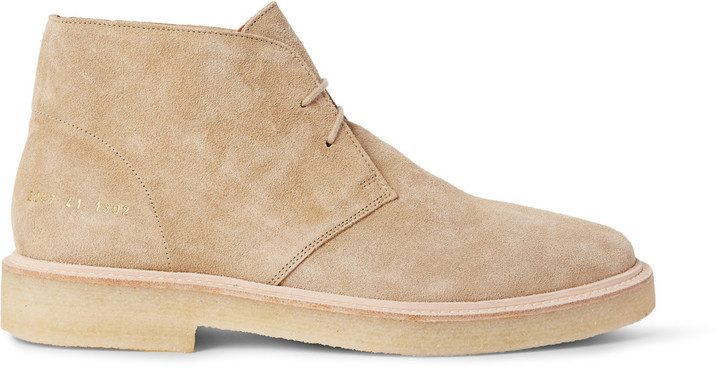 ... Tan Suede Desert Boots Common Projects Suede Desert Boots
