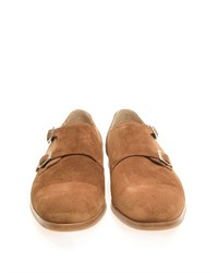 b7cfe659451f ... Mr. Hare Double Monk Strap Suede Shoes