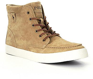 ... Suede High Top Sneakers Polo Ralph Lauren Tedd High Top Sneakers