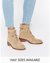 Aliza suede lace up ankle boots medium 763448