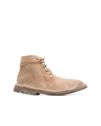 Marsèll Curved Lace Up Boots