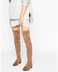 Elinna flat over the knee boots medium 1248909