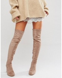 Vegas heeled over the knee boots medium 832606