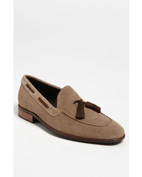 Thomas Dean Suede Tassel Loafer