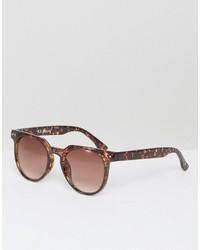 A. J. Morgan Aj Morgan Actualize Round Sunglasses In Tortoise