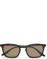 Barton Perreira Luxon Folding Tortoiseshell Acetate And Gold Tone Polarised Sunglasses