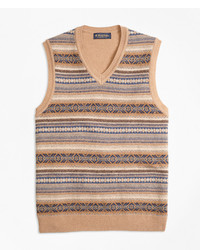 Tan Sweater Vest