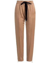 Tan Tapered Pants