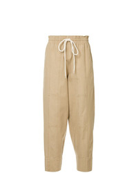 Bassike Drawstring Tapered Trousers