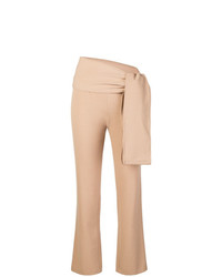 Romeo Gigli Vintage Knot Detail Slim Fit Trousers