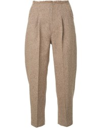 Le Ciel Bleu Round Tapered Trousers