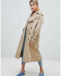 New Look Oversized Mac Trench Coat