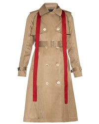 Undercover Removable Sleeved Silk Blend Trench Coat