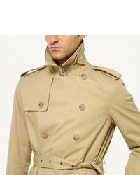 Ralph Lauren Black Label Twill Trench Coat