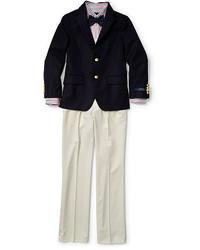 Ralph Lauren Boys 2 7 Wool Gabardine Pant