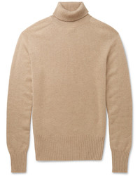 Tomas Maier Slim Fit Cashmere Rollneck Sweater