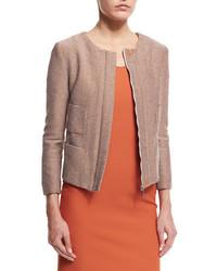 Tan Tweed Jacket