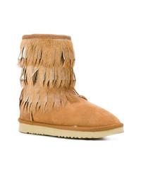 Mou Eskimo Fringed Boots