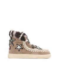 Mou Fur Stars Sneakers