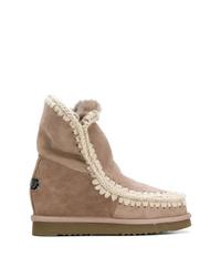 Mou Wedge Heel Eskimo Boots