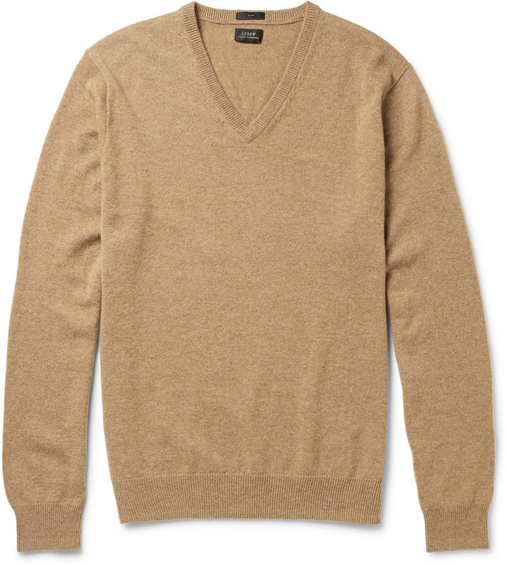 J.Crew Slim Fit V Neck Cashmere Sweater | Where to buy & how to wear