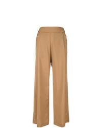 Tan wide leg pants original 4511736
