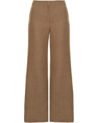 The Row Binona Wide Leg Wool Blend Trousers