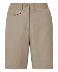 Anna Quan Patsy Wool Blend Shorts