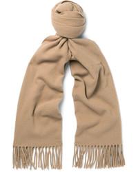 Canada narrow fringed virgin wool scarf medium 1245819