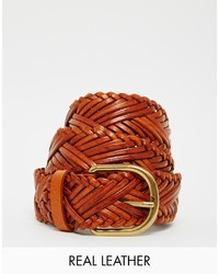 Warehouse Woven Plaited Belt