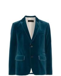 Haider Ackermann Velvet Suit Jacket