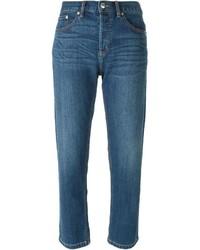 Marc by Marc Jacobs Cropped Boyfriend Jeans