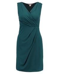 Anna Field Jersey Dress Petrol