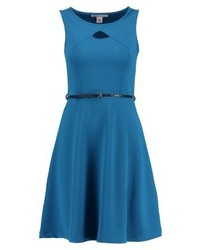 Anna Field Jersey Dress Turquoise