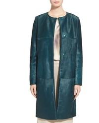 Max Mara Sorriso Genuine Calf Hair Coat