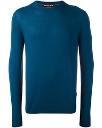 Teal Crew-neck Sweater