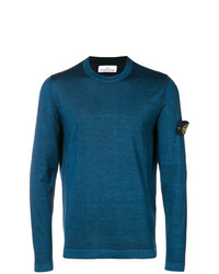 Stone Island Fast Dye Air Brush Knitted Sweater