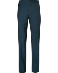 Ps by petrol slim fit wool and mohair blend trousers medium 321172