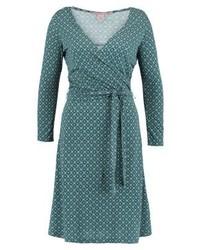 Anna Field Jersey Dress Deep Tealblack