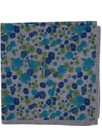 Ted Baker London Floral Wool Pocket Square