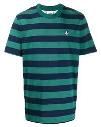 adidas Striped T Shirt